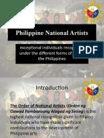 National Artists Humanities