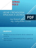 1 Leche y Tecnologia Aplicada a Lacteos