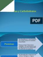 Carbohidratos y Proteinas