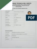 Informe Final de vinculación