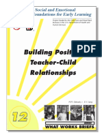 Building Positive Teacher-Child Relationships