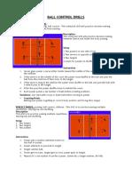 ball control drills