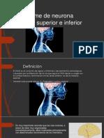 Equipo 6 Síndrome neurona motora sup e inf