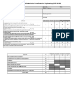 Lab Report Submission Form
