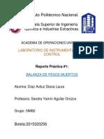 Reporte 1 Instrumentacion