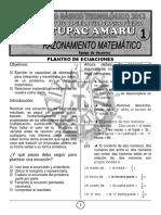 Ficha 1° Examen RM CBT 2013-II