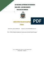 Modelo de Juicio Por Lesiones Graves.derecho Penal Nicaragua