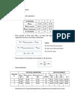 Cálculos y Resultados Ll Ylp
