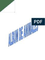 Album Animales