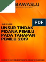 Buku Saku Pidana Pemilu