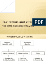 Water Soluble Vit for Class