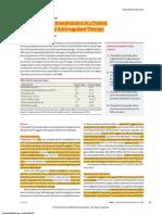 Hematologia - Hemostasia - Doacs (Jama 2018)