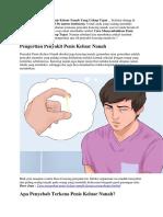 Cara Menyembuhkan Penis Keluar Nanah Yang Cukup Tepat