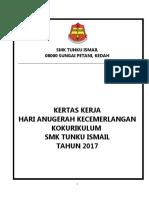 Kertas Kerja Anugerah Kokurikulum 2017