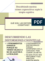 Teoria Cognitiva - Ejemplificación de Las Distorsiones Cognitivas - (Gaspar E. Ortiz)