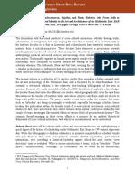 Review of Pella to Gandhara