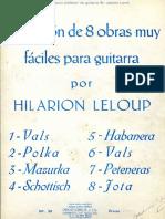 Hilarion Leloup. Colección de 8 obras