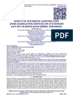 EFFECT OF AUTOMATIC LIGHTING FADS  (FISH AGGREGATING DEVICES) ON STATIONARY LIFT NET IN KEPULAUAN SERIBU, INDONESIA
