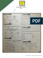 Repaso General Transformaciones Trigonometricas