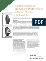 Watch Light Sensor