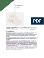 Ubicación Geografica de Silacayopam Oaxaca