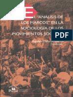 El Análisis de Los Marcos en La Sociología de Los Movimientos Sociales