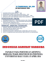 Indonesia Darurat Narkoba - Bachtiar H Tambunan.pptx