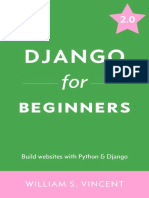 Django for Beginners Learn Web Development With Django 2.0
