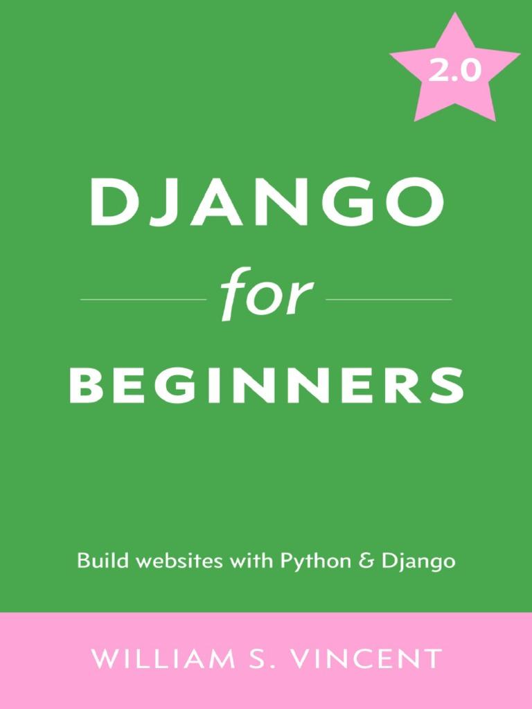 Django for Beginners Learn Web Development With Django 2 0 | Command