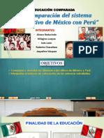 Comparación Del Sistema Educativo de México Con
