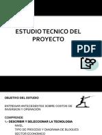 Estudio Técnico Del Proyecto s