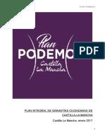 Plan Garantías Ciudadanas de Podemos-CLM