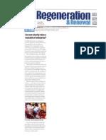 Charity Legislation Restrains Social Enterprises - Regen & Renewal Jul 09