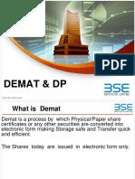 BSE Sub Brk Module 7 Demat & DP.