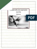CUADERNILLO DE EXPRESIÓN ESCRITA ESO-1