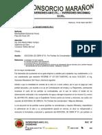 CARTA N° 035-2017 ADICIONAL DE OBRA
