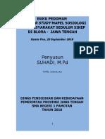 Buku Pedoman Outdoor Study Mapel Sosiologi
