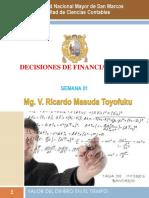 1 SEMANA 1 - Valor Del Dinero en El Tiempo