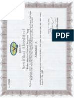 Akreditasi UAJY Prodi Teknik Informatika