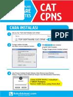 Petunjuk Instalas Top Cat Cpns