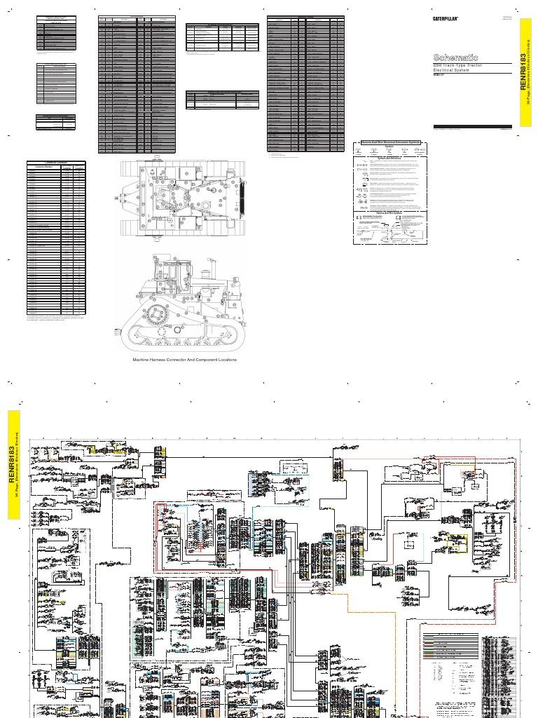 Cat Dcs Sis Controller Wdm D9r Track