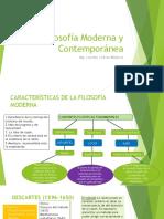 Filosofía Moderna y Contemporánea