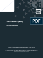 IES VE - Introduction to Lighting