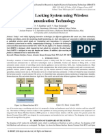 Smart Door Locking System using Wireless Communication Technology