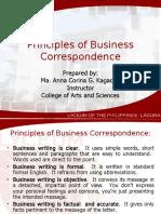 121877350 Principles of Business Correspondence