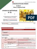 Unidad de aprendizaje N° 2 III ciclo Multigrado 2014
