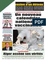 Journal Le Soir DAlgerie Du Samedi 13 Octobre 2018
