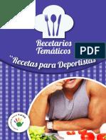 RECETARIO DEPORTISTAS
