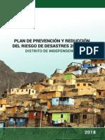 Plan de Prevencion de Riesgos Distrito Independencia