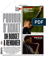 Journal LIBE Du Lundi 15 Octobre 2018